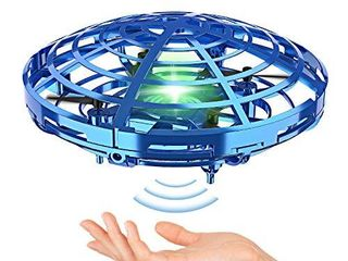 Hand Operated Drones for Kids or Adult   Interactive Infrared Induction Indoor Helicopter Ball with 360 Rotating and Shinning lED lights Hand Controlled Flying Ball Toys for 5 6 7 8 9 10 11 12 Years
