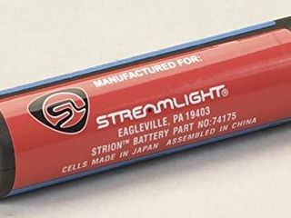Streamlight 74175 Battery lithium for Strion Made By Streamlight