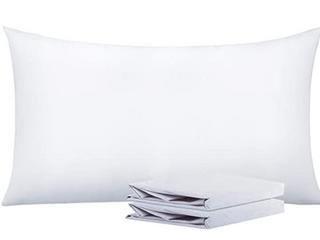 NTBAY  Pilloe Cases  Pack of 2  White