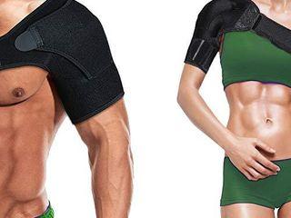 Shoulder Brace Sleeve Shoulder Cuff with Pressure Pad Adjustable Breathable Neoprene Shoulder Support Brace for Rotator Cuff AC Joint Dislocated Shoulder or Sprains for Right   left Shoulder