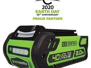 Greenworks 40V 2 0 AH lithium Ion Battery 29462