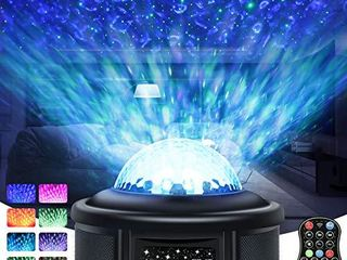 Galaxy Projector light  Star Projector  Starry Night light for Kids with Timer  Skylight for Bedroom Ceiling with Bluetooth Speaker  360 Rotating lED Projection light for Kids Bedroom Game Rooms