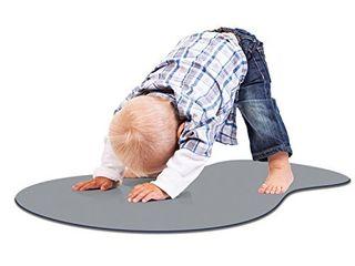 Woombie Tot Toddler Yoga Mat  Gray