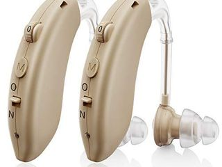 Invisible Hearing Aids for Seniors Rechargeable with Noise Cancelling  Aioze Personal Hearing Amplifier for Adults Severe Hearing loss  G25 Digital Ear Hearing Assist Devices with Volume Control