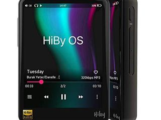 HiBy R3 Pro  Red  Hi Fi lossless MP3 Player  Hi Res Music Player with Bluetooth Audio Player Supporting WiFi with Full Touch Screen
