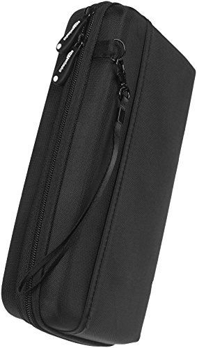 Universal Travel Case Organizer for Small Electronics and Accessories  Black