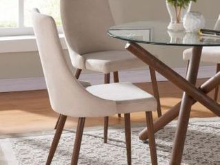 Carson Carrington Kaskinen Dining Chair  Set of 2  Retail 153 99