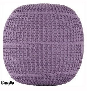 Artist s loom Indian Pouf  18x18 x16  Retail 87 99