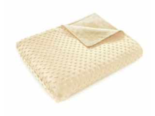 Quility Weighted Blanket Cover 48x72  Ivory