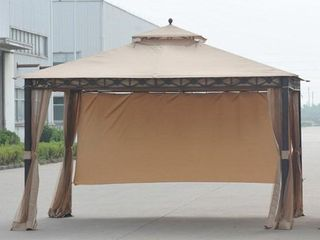 Sunjoy Replacement Canopy Set 10X12 S amp H Allogio Gazebo  Retail 131 49