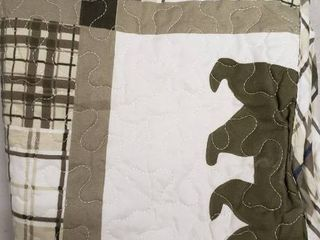 108x90  King Bear Quilt Set