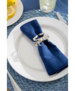 DII Napkin Rings for Dinners  Parties  Everyday Set of 12  Coastal Crab
