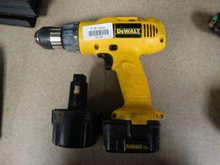 DeWalt Adjustable Clutch Cordless Drill