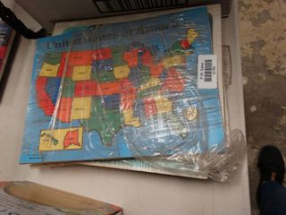lot of Wood Puzzles