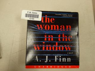 Audiobook of the Woman in the Window by A J  Finn