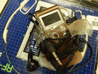 Voice Recorder and Panasonic Radio with Headphones