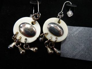 Pair of Unique Hanging Earrings