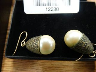 Pair of Hanging Earrings