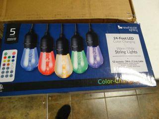 24  lED Color Changing String lights