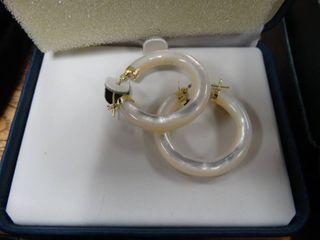 Pair of Hoop Earrings