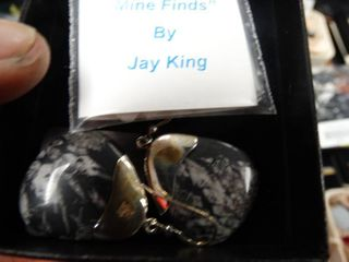 Pair of  Mine Finds  Earrings by Jay King