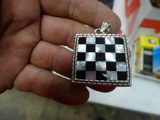 Checkered Pendant