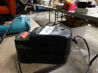 Black   Decker Battery and Charger