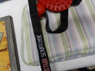 Cactus Back Scratcher and Travel Toiletry Kit