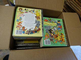 Box of little Golden Books