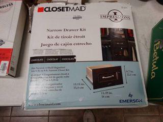 Closet Maid Narrow Drawer Kit