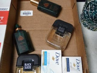 lot of Cologne and Soap