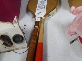 lot of 3 Rackets