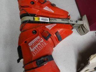 Pair of Salomon Equipe Junior Ski Boots