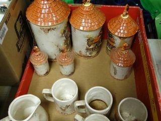 Set of Decorative Dishware