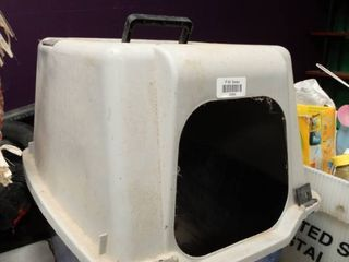 litter Box with lid