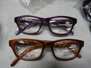 lot of 2 Pairs of Reading Glasses