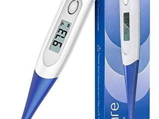 Thermometer for Adults  Digital Oral Thermometer for Fever with 10 Seconds Fast Reading