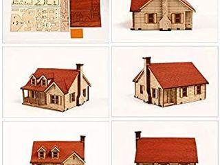 Pre Cut House Kit Crafts For the Family   unsure of house design