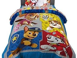 Franco Kids Bedding Super Soft Comforter with Sheets and Cuddle Pillow Bedroom Set  5 Piece Twin  full Size  Paw Patrol