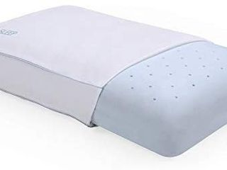 Cool Sleep Ventilated Gel Memory Foam Gusseted Pillow with Performance Cool Pass Cover  Standard