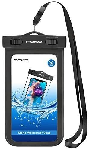 Waterproof Phone Pouch  Underwater Cellphone Case Dry Bag with lanyard Armband Compatible with iPhone 12 Mini 12 12 Pro  iPhone 11 11 Pro Max  X Xs Xr Xs Max  8  Galaxy S20 S10 S9  A10E  Note 10