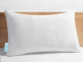 Shredded Memory Foam Pillows for Sleeping  Hypoallergenic Pillows for Side Sleepers 1 Pack