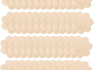 40 Pairs Nipple Covers Disposable Breast Pasties Adhesive Petals Bra for Women