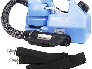 FlSEPAMB Electric Sprayer 7l Ulv Fogger Portable Fogger Machine Multi Purpose Intelligent Atomizer Suitable for Indoor Outdoor Garden Home Hotel School