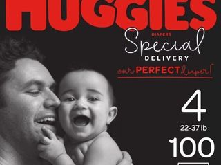 Huggies Special Delivery Disposable Diapers Economy Plus Pack   Size 4  100ct