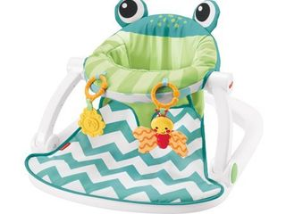 Fisher Price Sit Me Up Floor Seat with 2 linkable Toys  Citrus Frog