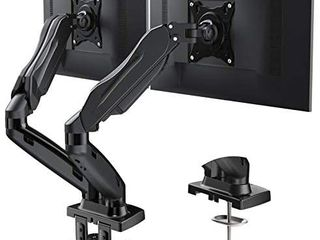 Brand  HUANUO 4 7 out of 5 stars 5 215Reviews HUANUO Dual Monitor Stand   Adjustable Spring Monitor Desk Mount Swivel Vesa Bracket with C Clamp  Grommet Mounting Base for 17 to 27 Inch Computer Screens   Each Arm Holds 4 4 to 14 3lbs