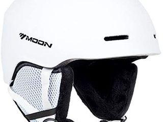 MOON Ski Helmet Men Women Snowboard Helmet Snow Helmet  12 Vents 400g