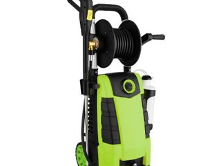 Teande 3800PSI Electric High Pressure Washer 2 8GPM 1800W High Power Cleaner Machine 5 Adjustable Nozzle Ne3M