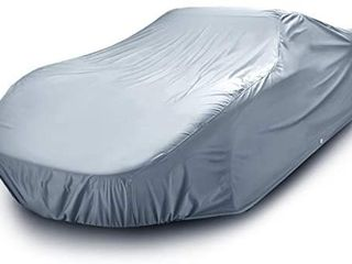 18 layer All Weather Waterproof Snow Rain UV Sun Dust Protection Automobile Outdoor Coupe Sedan Hatchback Wagon Custom Fit Full Body Auto Vehicle Car Cover   for Cars Up to 195a